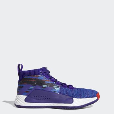 Men Basketball Purple Dame 5 Shoes