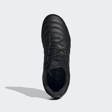 Kids Football Black Copa 20.3 Firm Ground Boots