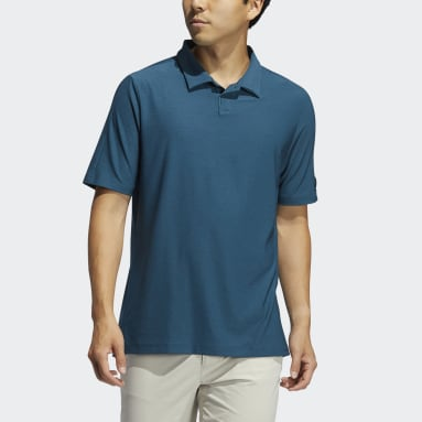 Men Golf Turquoise Go-To Polo Shirt