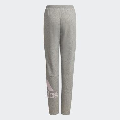 Pantalón adidas Essentials French Terry Gris Niña Sportswear