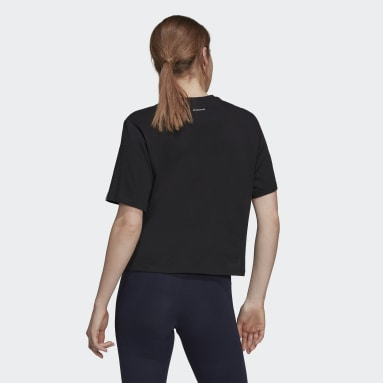 Women Sport Inspired Black Don't Let Anybody Stop You Graphic Tee