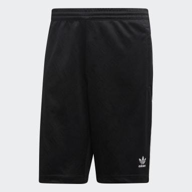 Men's Originals Black Monogram Shorts