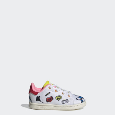 Infants Originals White Stan Smith Primeblue Shoes