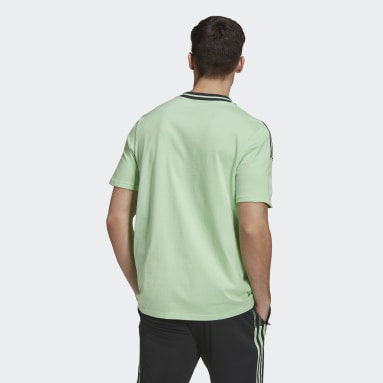 Men's Soccer Green Manchester United Tee
