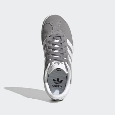 Children Originals Grey Gazelle Shoes