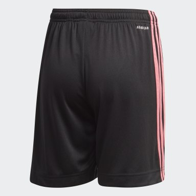 Kids Football Black Real Madrid 20/21 Third Shorts
