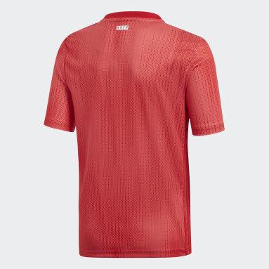 Kinderen Voetbal Rood Real Madrid Derde Shirt Jeugd