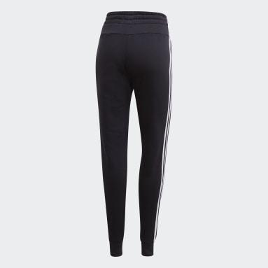 Women's Essentials Black Essentials 3-Stripes Joggers