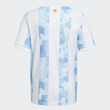 Børn Fodbold Hvid Argentina hjemmebanetrøje