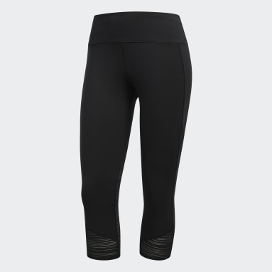Women Training Black How We Do 3/4 Tights