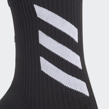 Handball Black Alphaskin Crew Socks