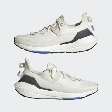 Running White Ultraboost 21 x Parley Shoes