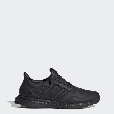 Chaussure Ultraboost Leather noir Course