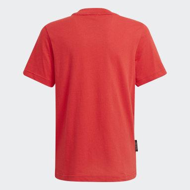 Boys Lifestyle Red Aaron Kai x adidas Graphic Tee
