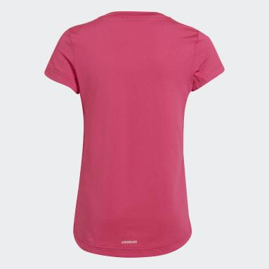 G AR GR TEE Rose Filles Fitness Et Training