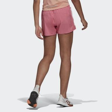 Women's Running Pink Run It Shorts