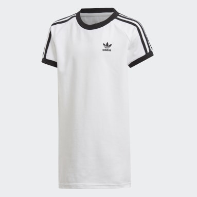 Youth Originals White 3-Stripes Dress
