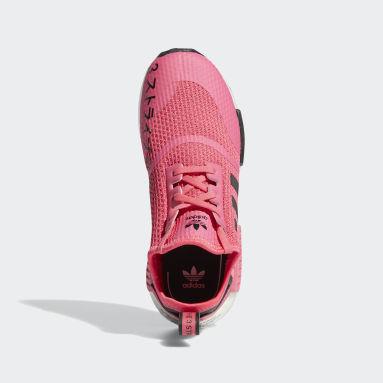 Children Originals Pink NMD_R1 Shoes