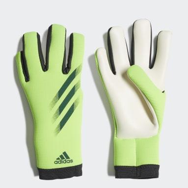 Fotbal zelená Rukavice X 20 Training