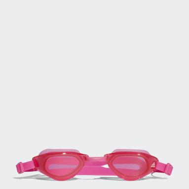 Barn Simning Rosa Persistar Fit Unmirrored Simglasögon