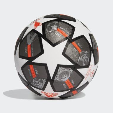 Erkek Futbol Beyaz Finale 21 20th Anniversary UCL Textured Antrenman Topu