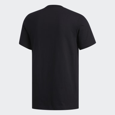 Men's Essentials Black Badge of Sport Tee