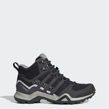 Women TERREX Black Terrex Swift R2 Mid GORE-TEX Hiking Shoes