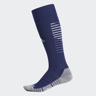 Soccer Blue Team Speed 2 Socks