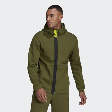 Men Sportswear Green adidas Sportswear Innovation Motion Full-Zip Hoodie