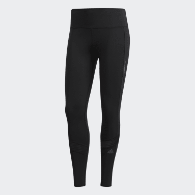 Calzas 7/8 How We Do - Tiro Alto Negro Mujer Running