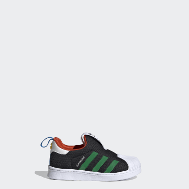 Infants Originals Black adidas Superstar 360 x LEGO® Shoes