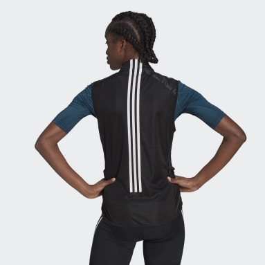 Women Cycling Black The Sleeveless Cycling Vest