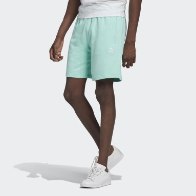 Männer Originals LOUNGEWEAR Trefoil Essentials Shorts Türkis