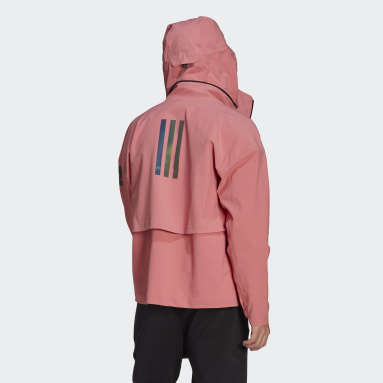 Men City Outdoor Pink MYSHELTER Rain Jacket