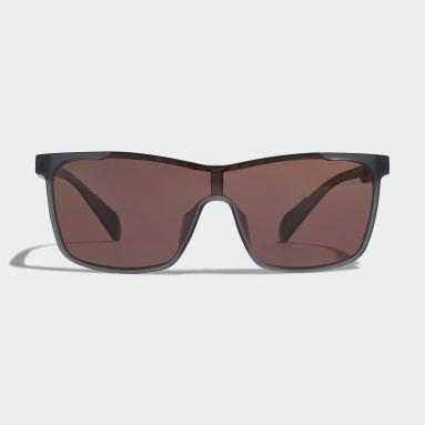 Running Grey Sport Sunglasses SP0019