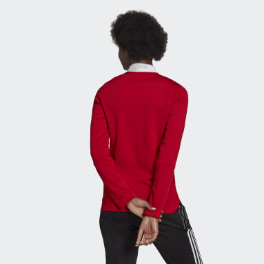 Women Soccer Red Tiro 21 Track Jacket