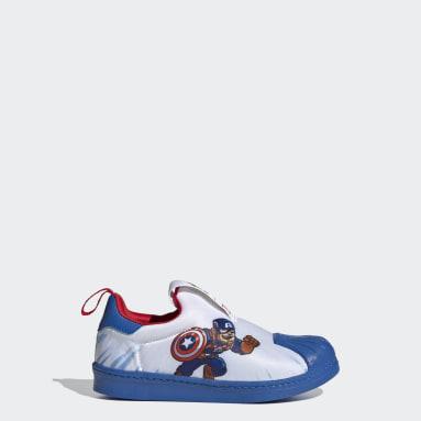 Kids Originals White Superstar 360 Shoes