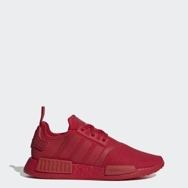Sapatos NMD_R1 Vermelho Originals
