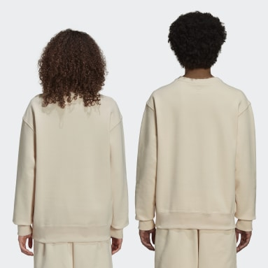 Originals Beige Pharrell Williams Basics Sweatshirt (Uniseks)