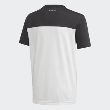 Jongens Studio Wit Equipment T-shirt