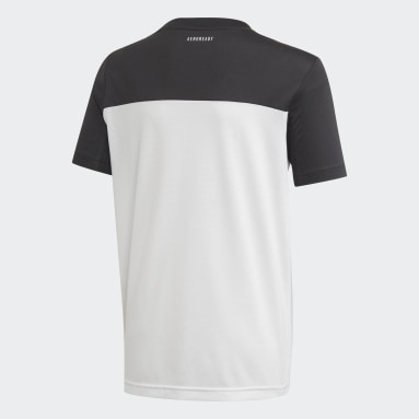 T-shirt Equipment Blanc Garçons Studio