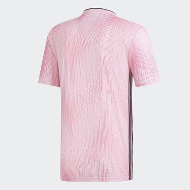 Camiseta Tiro 19 Rosado Hombre Fútbol