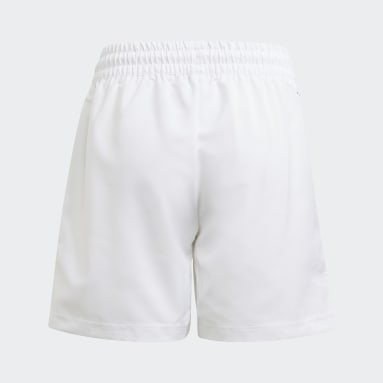 Club Tennis 3-Stripes Shorts Bialy