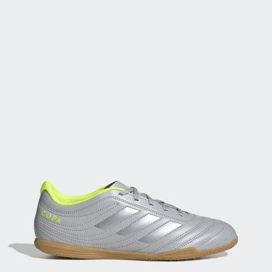 Men Futsal Grey Copa 20.4 Indoor Boots