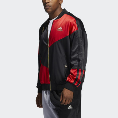 Men Basketball Red CNY Dame Jacket