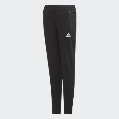 Girls Gym & Training Black Woven Pants