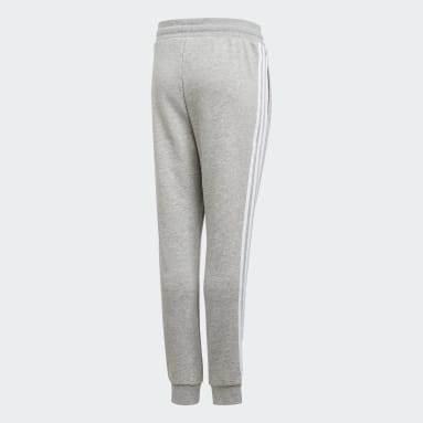 Kids Originals Grey 3-Stripes Joggers