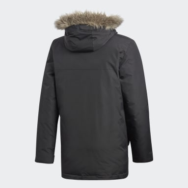 Men City Outdoor Black Xploric Parka