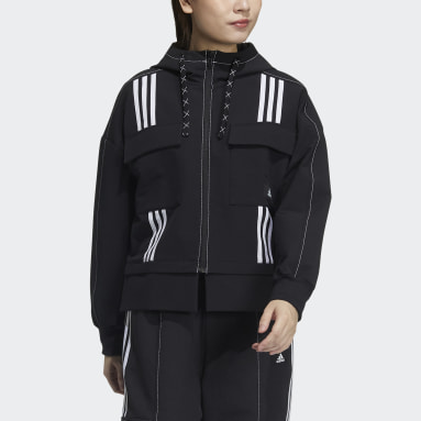Women Sportswear Black DIY Jacket