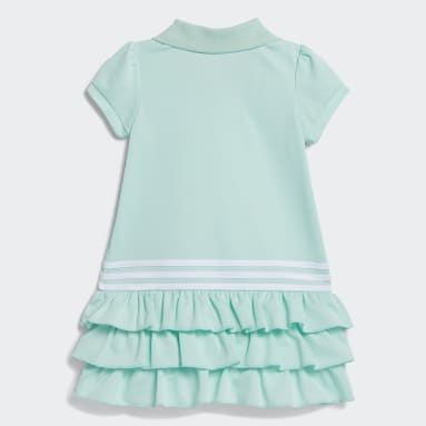 Infant & Toddler Training Turquoise Polo Dress